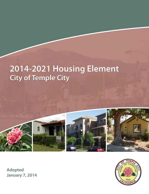 Housing Element Cover